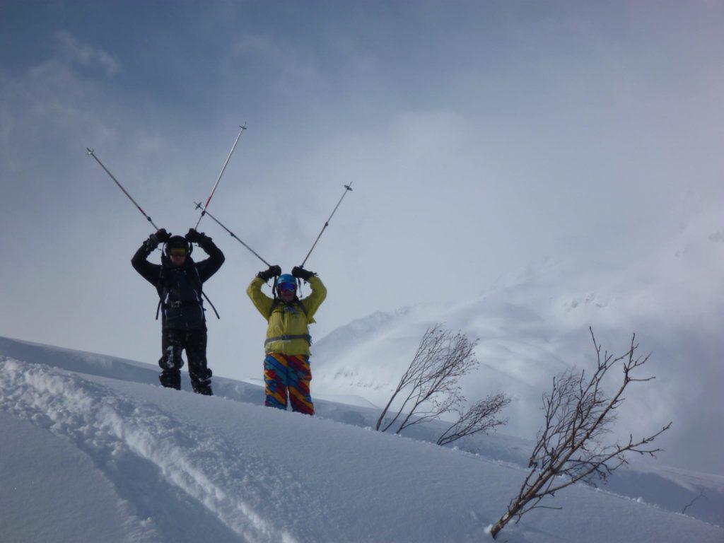 ski de poudreuse en Tarentaise